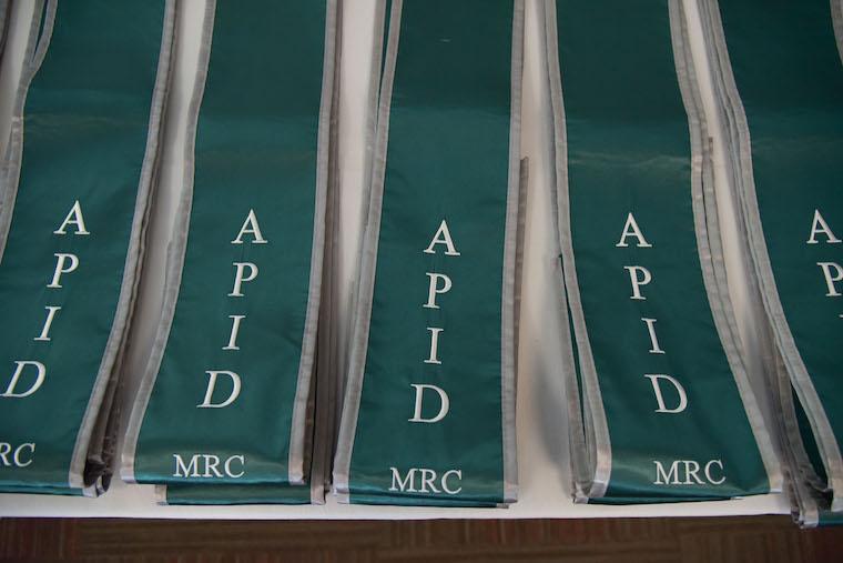 APID Graduation Stoles