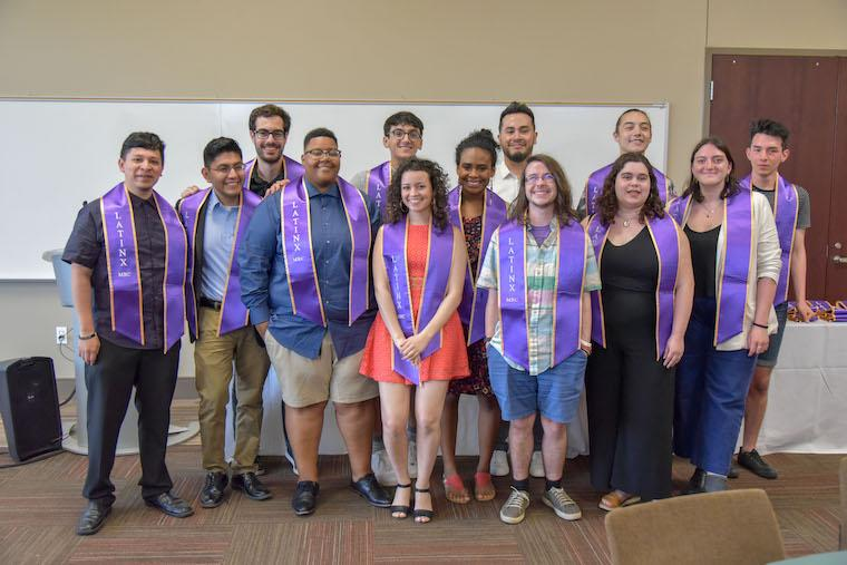 Latinx Graduation Group Photo
