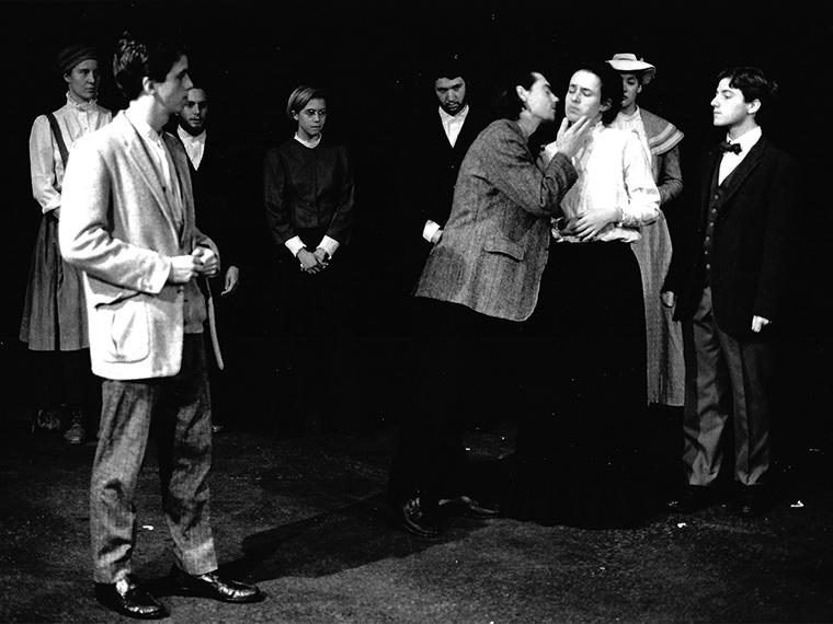 Photograph of a scene from A Woman Without a Name, by Romulus Linney, Directed by Jane S. Armitage, Nov 1990